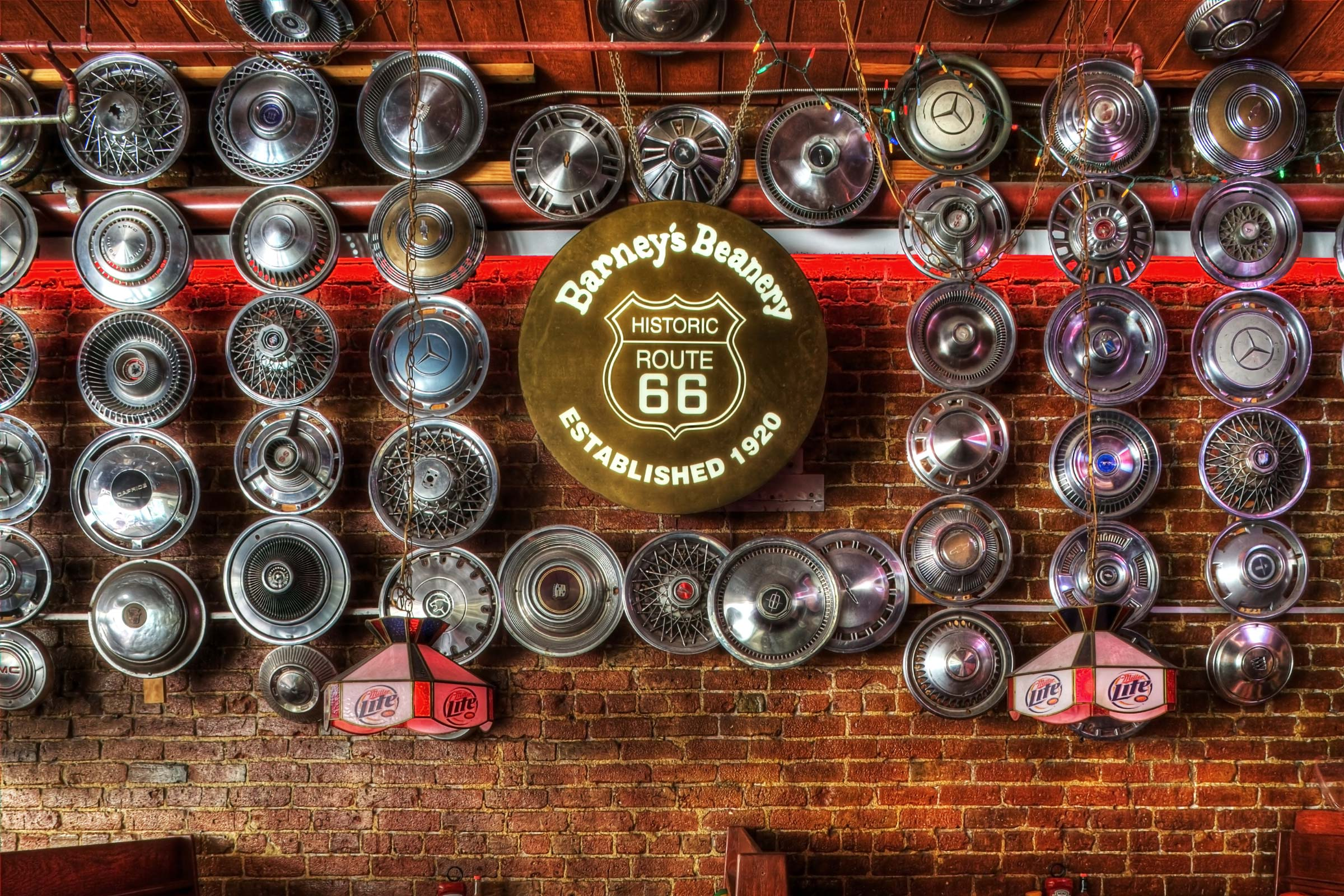 About • Barney's Beanery