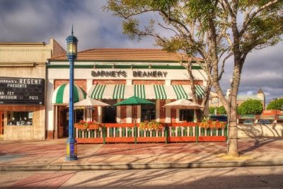 Westwood Barneys Beanery Exterior front