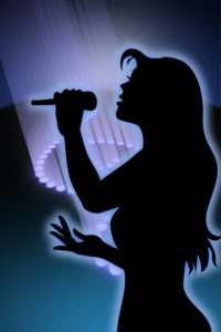 Shadow female singer