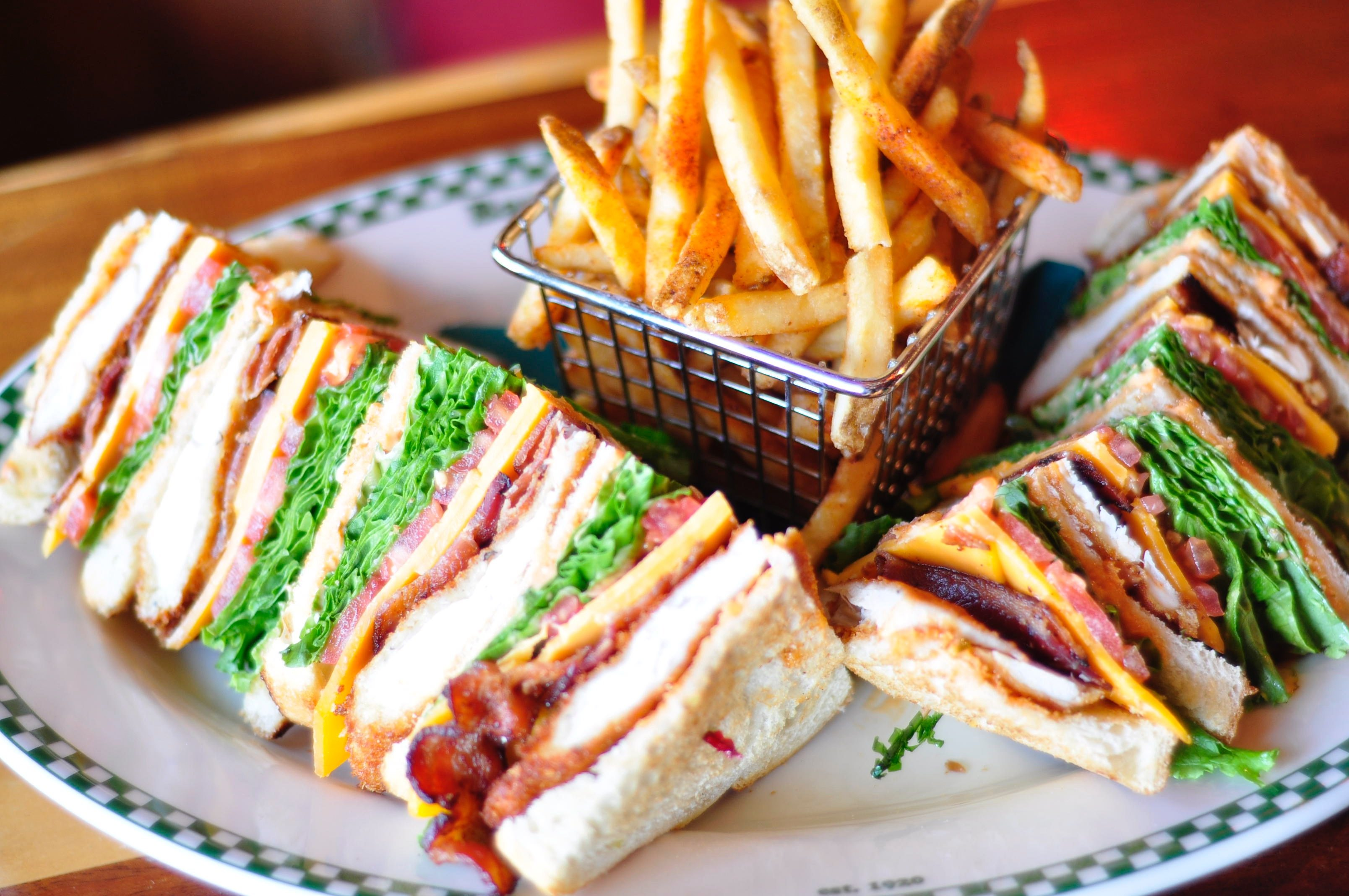 Club Sandwich close-up
