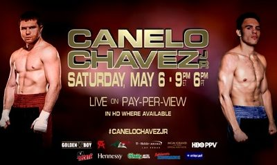 Canelo vs Chavez Jr Flyer